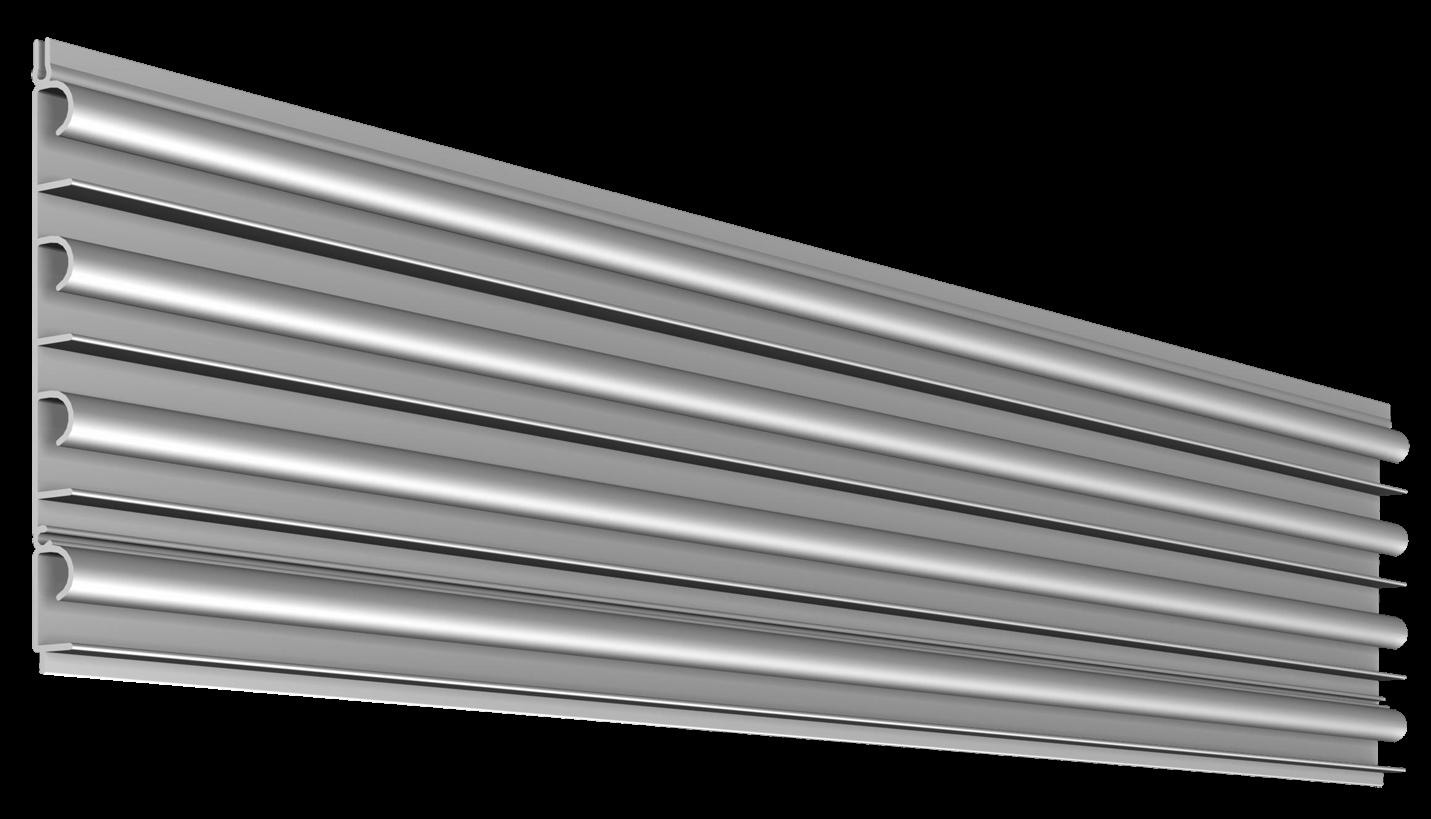 1.5 inch Flat Back Megawall