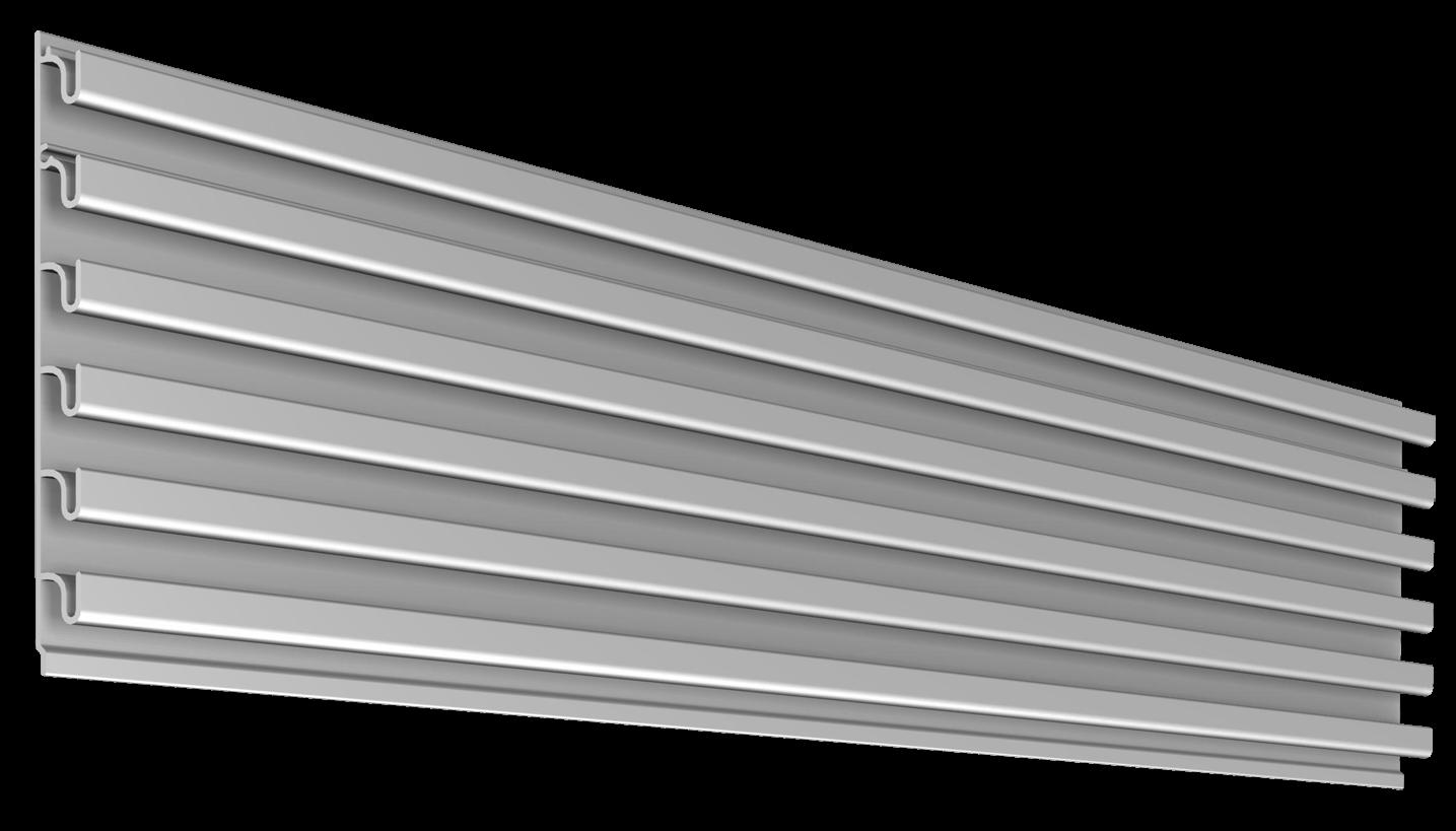 1 inch Flat Back Megawall